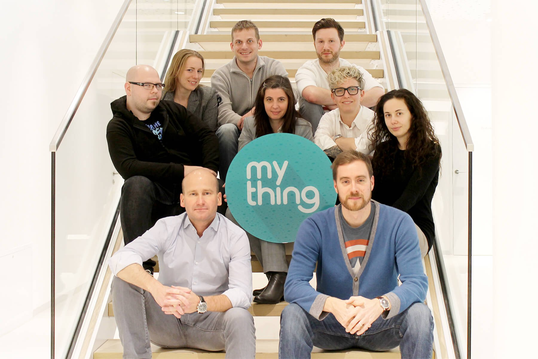 The team of mything with CEO Florian Mott and CTO Matthias Kerstner.