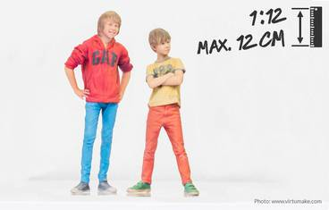 Child 12 cm - 3D figurine