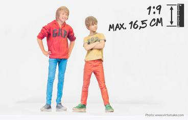 Child 16.5 cm - 3D figurine