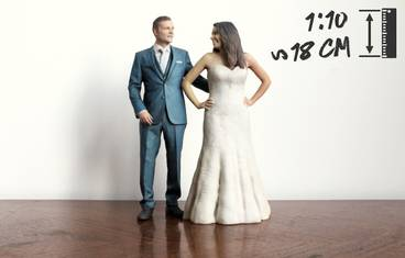 Wedding 18 cm - 3D figurine
