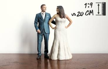 Wedding 20 cm - 3D figurine