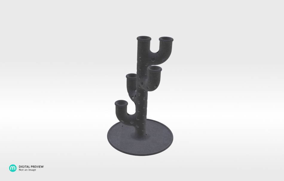 Sandstone black                                                Decoration Home 3D printed