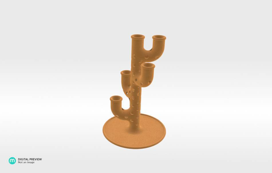 Sandstone orange                                                Decoration Home 3D printed