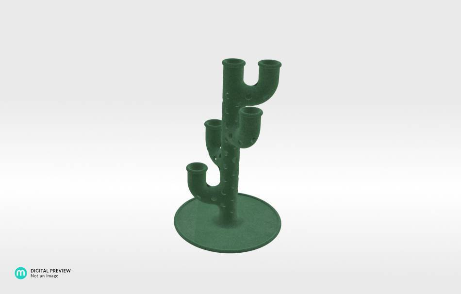Plastic matte green                                                Decoration Home 3D printed