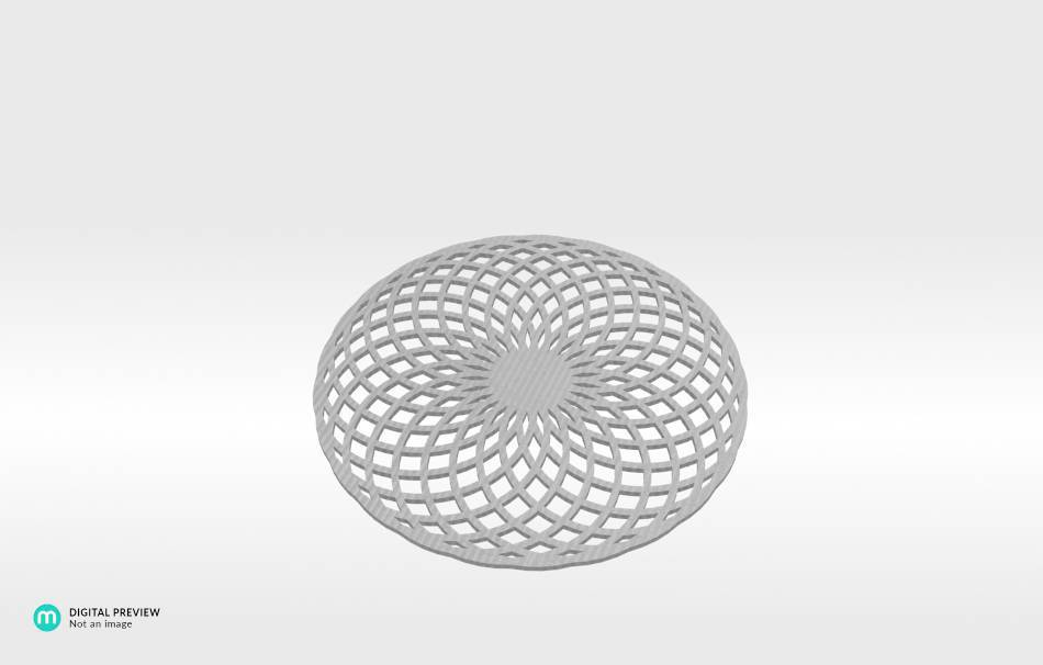 Organic plastic white                                                Decoration Decoration Home Office Others Others 3D printed