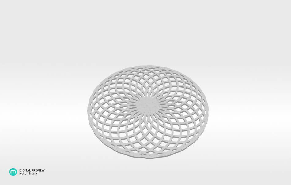 Plastic matte white                                                Decoration Decoration Home Office Others Others 3D printed