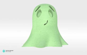 Cute ghost - Plastic glow-in-the-dark glow in the dark