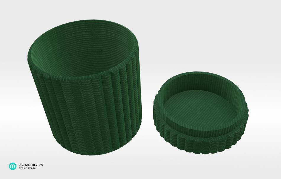 Organic plastic green                                                Organizers Organizers Decoration Decoration Others Others 3D printed