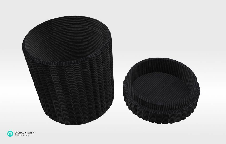 Organic plastic black                                                Organizers Organizers Decoration Decoration Others Others 3D printed