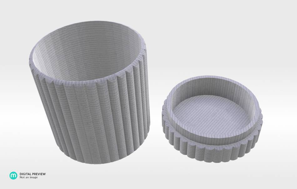 Organic plastic white                                                Organizers Organizers Decoration Decoration Others Others 3D printed