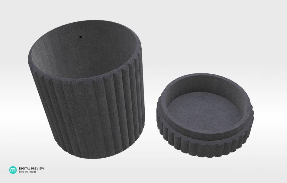 Sandstone black                                                Organizers Organizers Decoration Decoration Others Others 3D printed
