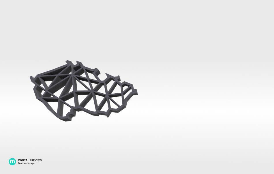 Sandstone black                                                Jewelry Pendants 3D printed