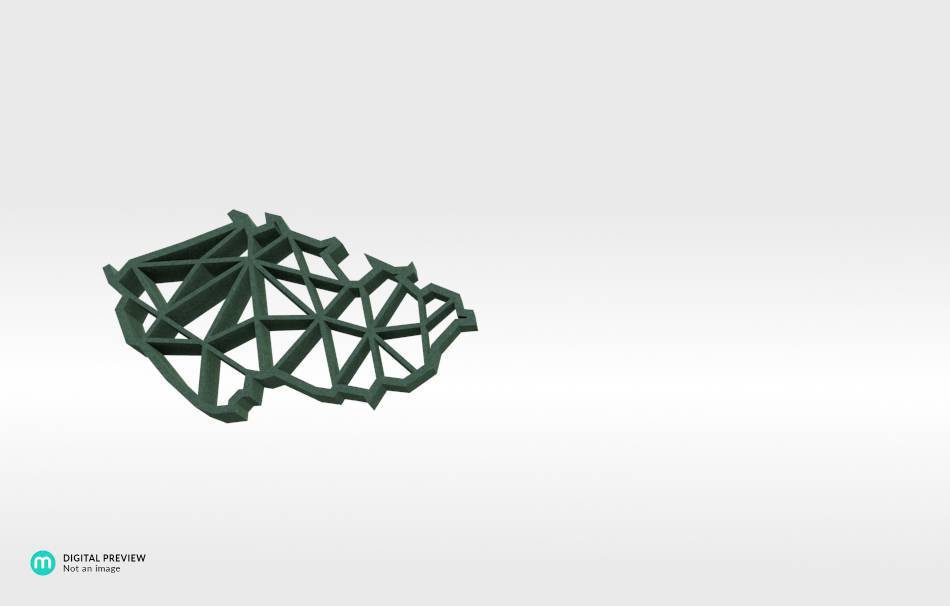 Sandstone green                                                Jewelry Pendants 3D printed