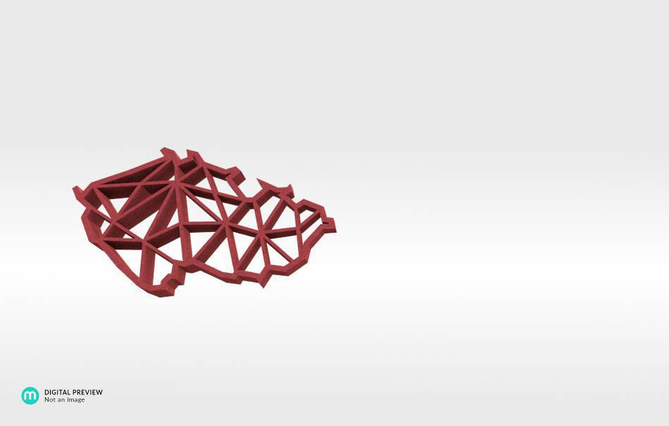 Sandstone red                                                Jewelry Pendants 3D printed