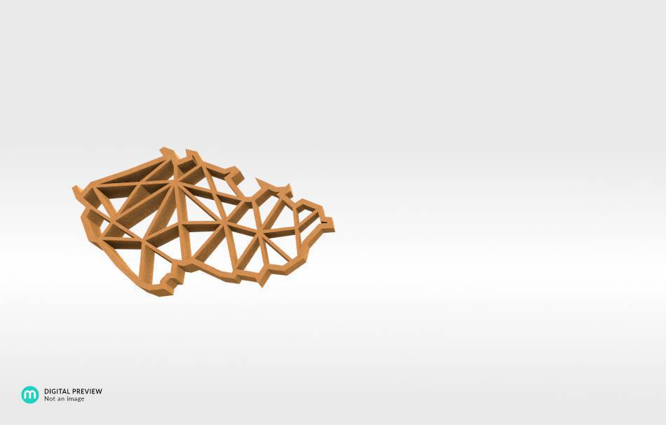 Sandstone orange                                                Jewelry Pendants 3D printed