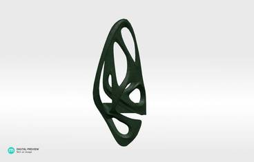 David Ring 2 - Plastic matte green