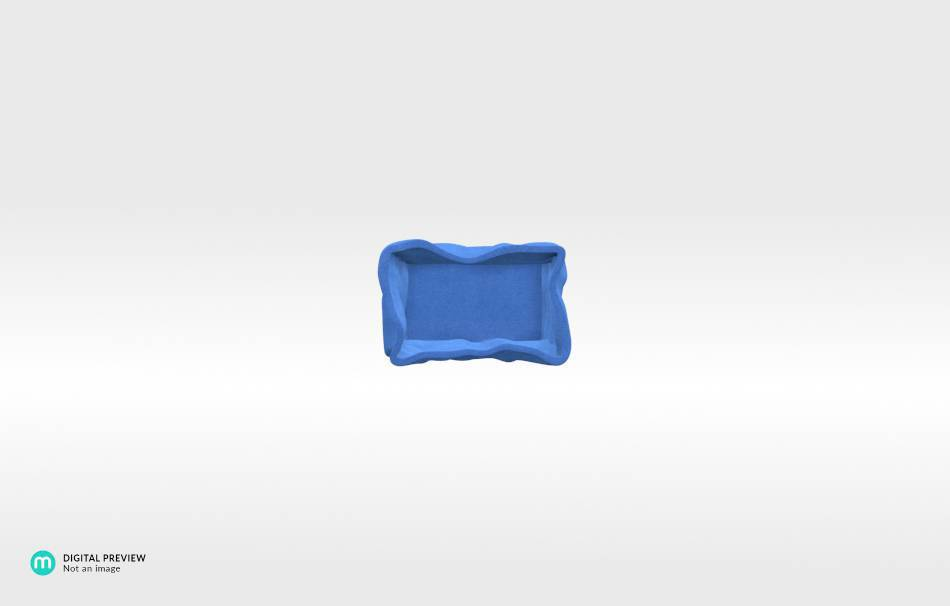 Sandstone blue                                                Organizers Organizers Decoration Decoration Home Office 3D printed