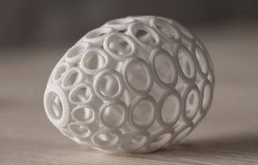 Printed Easter Egg