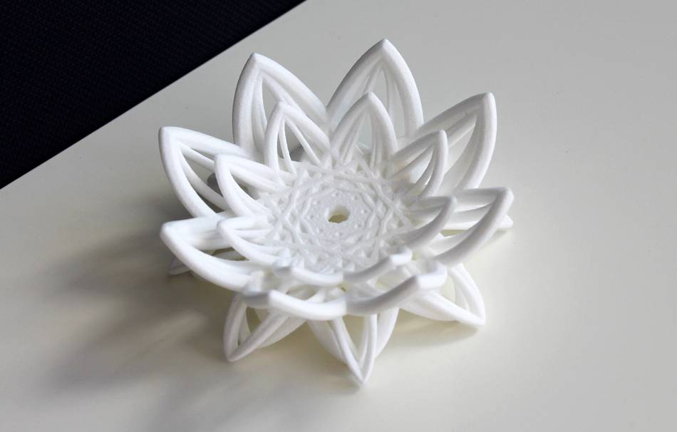 Plastic matte white                                                Decoration competition | winning designs Top designs Decoration Home 3D printed