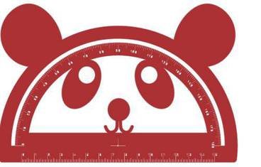 Goniometer Panda - Acrylic glass 3mm red