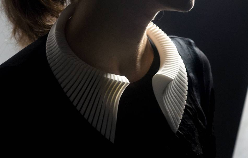 Plastic matte white                                                Jewelry competition | winning designs Top designs Necklaces Jewelry 3D printed