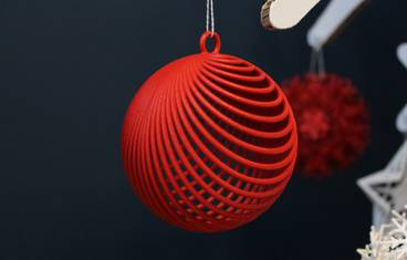 Illusione Christmas bauble