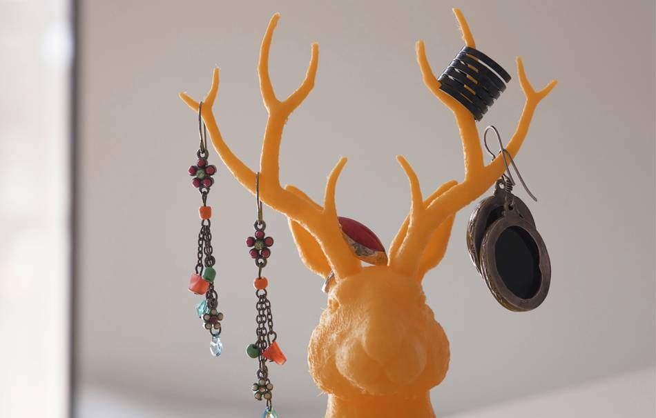"Jewelry holder ""Jackalope"""