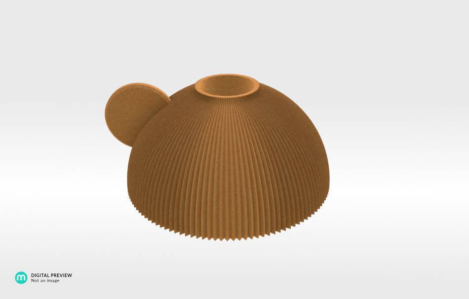 Sandstone orange                                                Decoration Decoration Home Office 3D printed