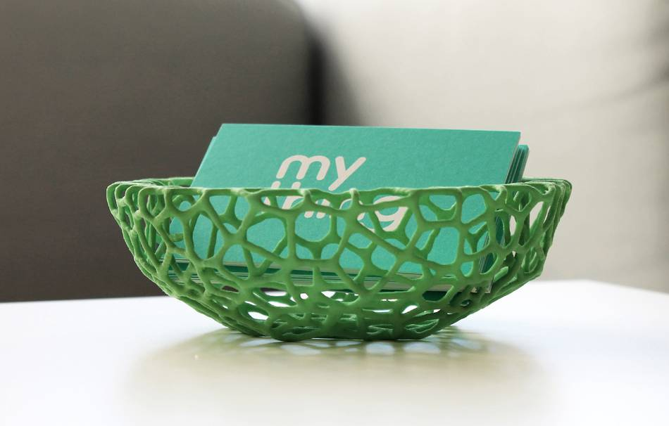 Plastic matte green                                                Decoration competition | winning designs Organizers Organizers Top designs Decoration Decoration Home Office 3D printed