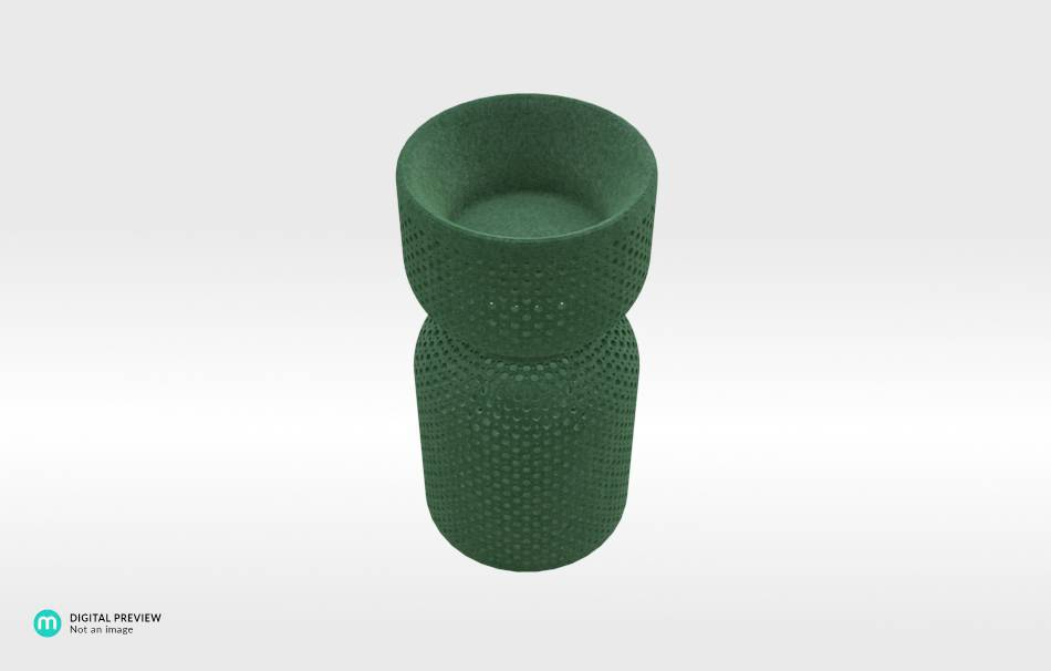 Plastic matte green                                                Top designs Decoration competition | winning designs Decoration Home 3D printed