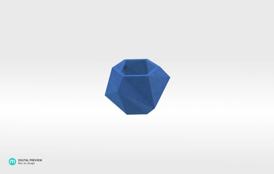 Sandstone blue                                                Home Others 3D printed