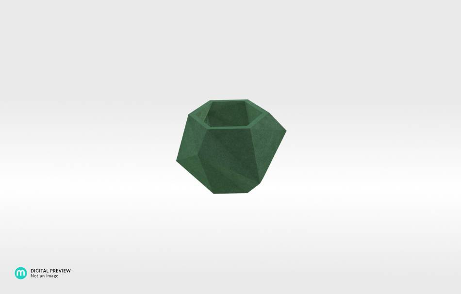 Plastic matte green                                                Home Others 3D printed