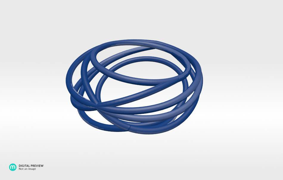 Resin blue                                                Jewelry competition | winning designs Top designs Jewelry Rings 3D printed