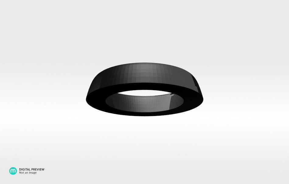 Resin black                                                Bracelets Jewelry 3D printed