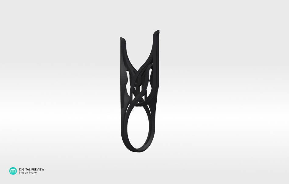 Resin black                                                Jewelry competition | winning designs Top designs Jewelry Rings 3D printed