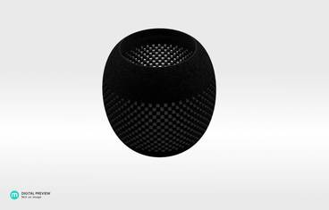 Parametric perforated bowl - Plastic matte black
