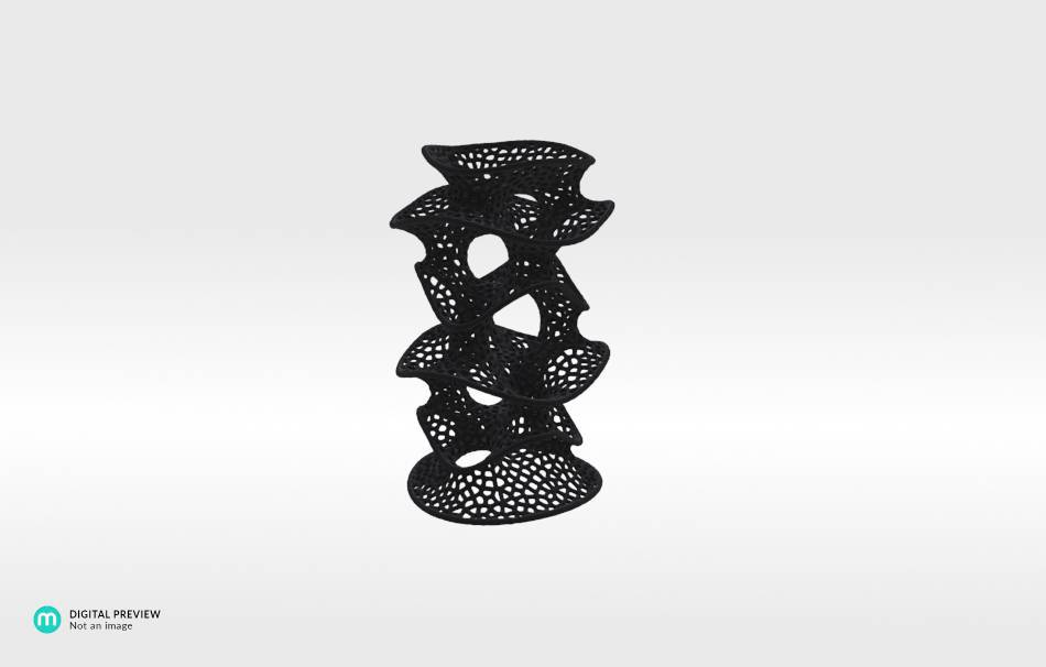 Resin black                                                Decoration competition | winning designs Top designs Organizers Organizers Decoration Decoration Home Office 3D printed