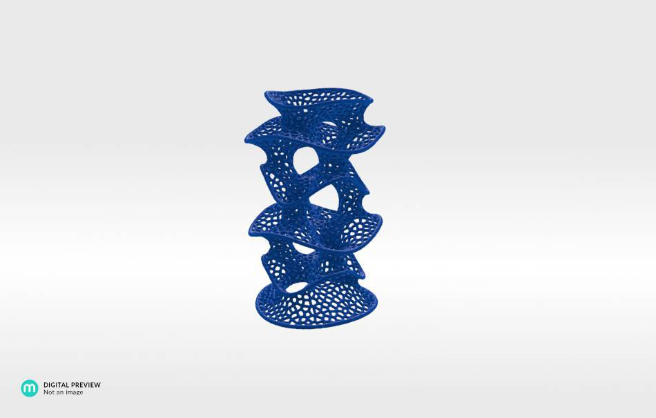 Resin blue                                                Decoration competition | winning designs Top designs Organizers Organizers Decoration Decoration Home Office 3D printed