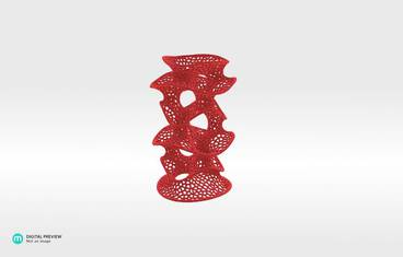 Protonik pen holder - Plastic matte red
