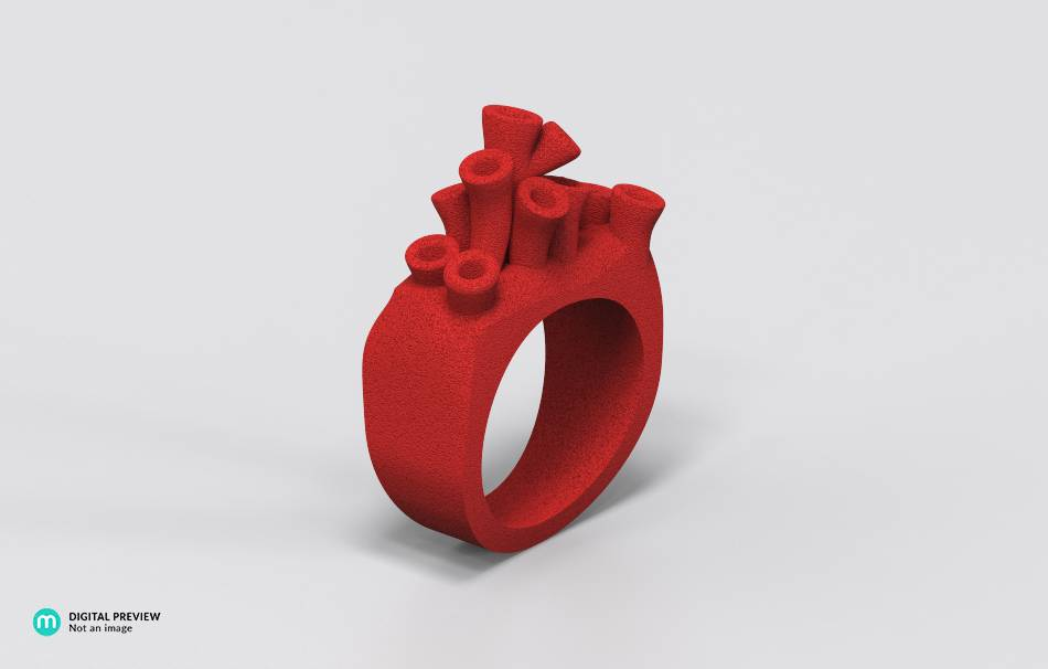 Jewelry Rings 3D printed