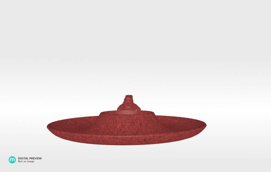 Sandstone red                                                Decoration Decoration Home Office 3D printed