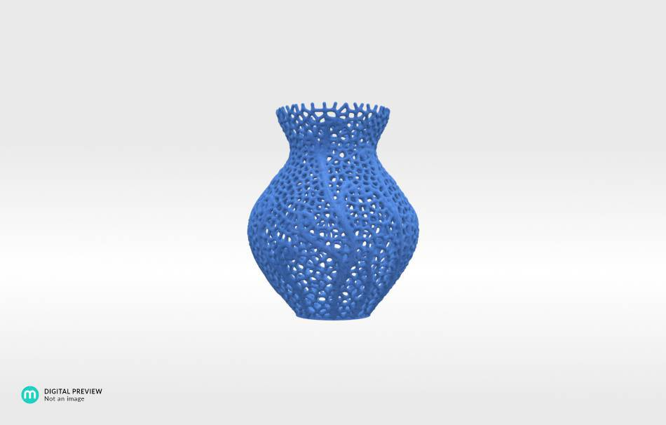 Sandstone blue                                                Decoration competition | winning designs Top designs Decoration Decoration Home Office 3D printed