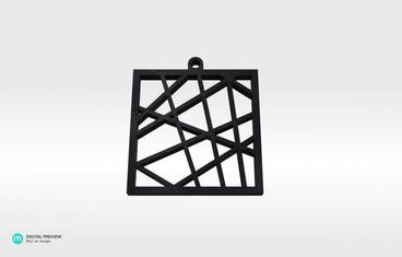 Square vector pendant