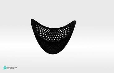 Structure bowl - Plastic matte black