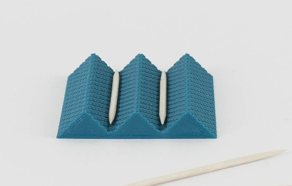 Plastic matte blue                                                Organizers Organizers Home Office 3D printed