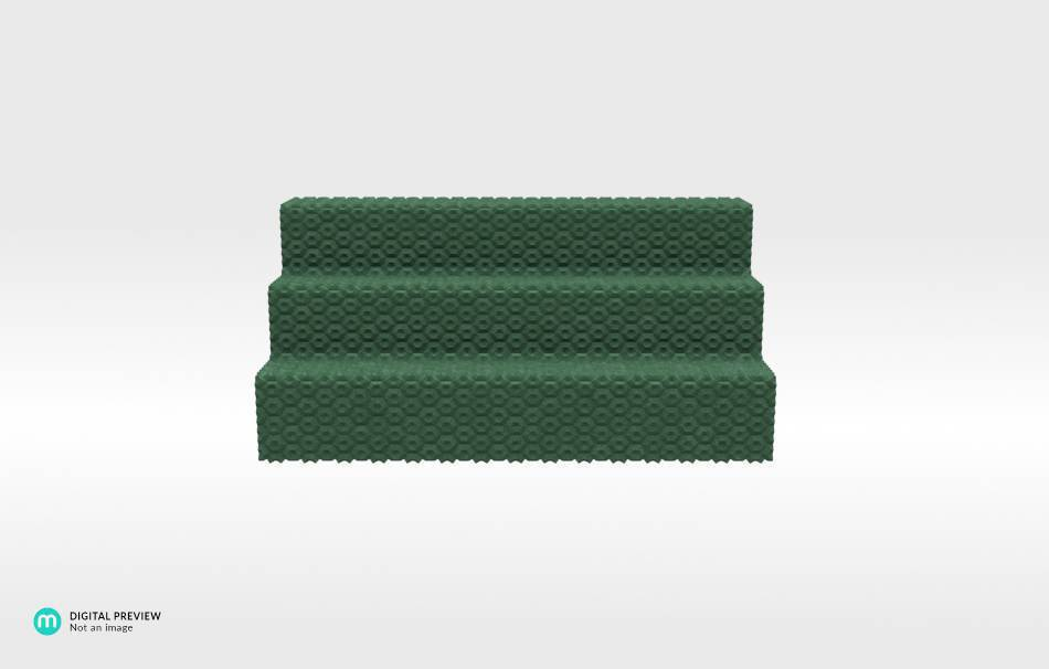 Plastic matte green                                                Organizers Organizers Home Office 3D printed