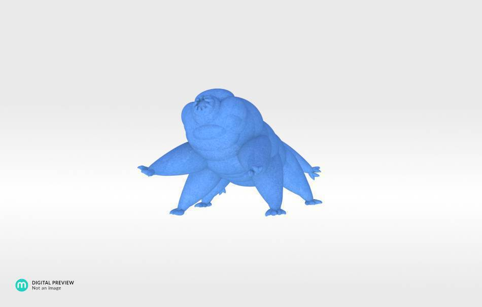 Sandstone blue                                                Fun Fun 3D printed