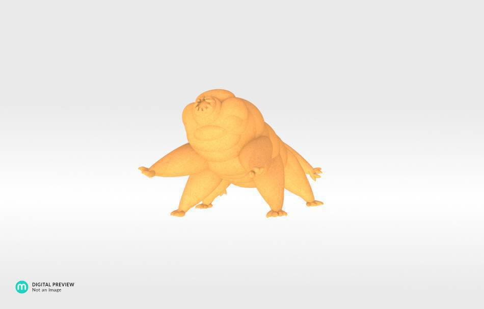 Sandstone orange                                                Fun Fun 3D printed