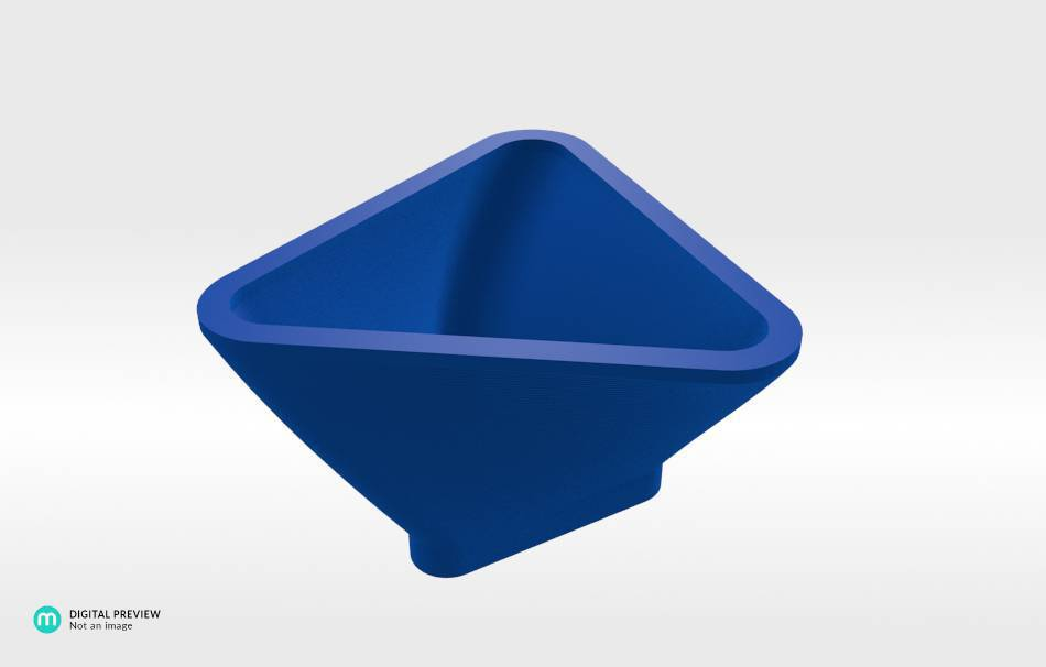 Resin blue                                                Organizers Home 3D printed