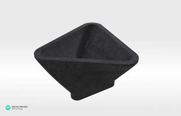 Triangle Bowl - Plastic matte black
